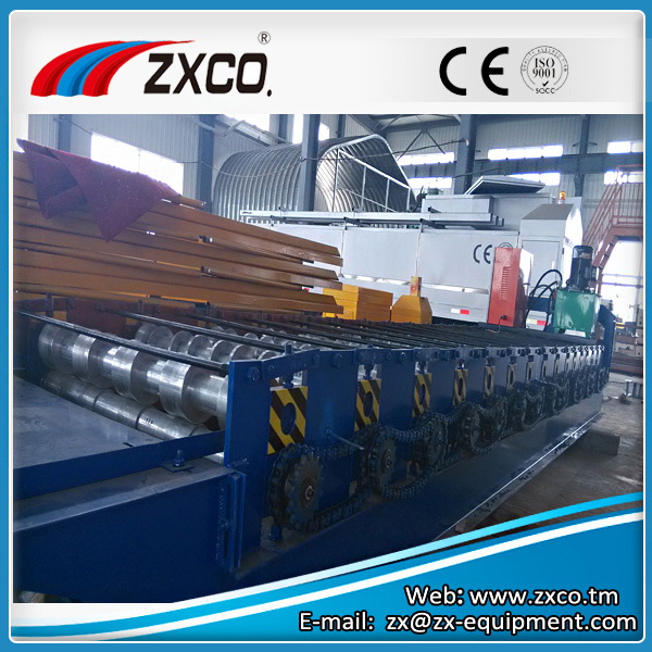 Flat Sheet Corrugated Roll Forming Machine