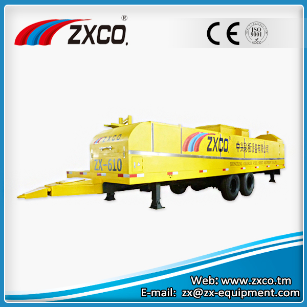 Large Span Curving Roof Roll Forming Machine ZX-610
