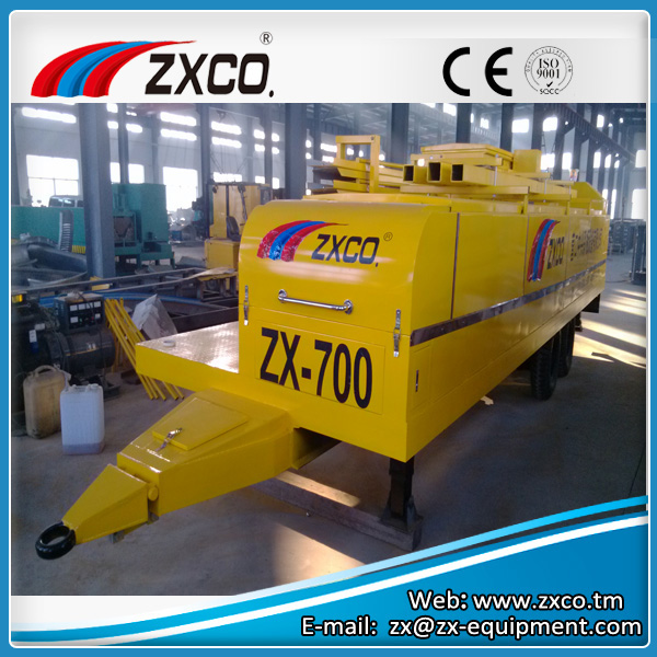 Large Span Curving Roof Roll Forming Machine ZX-700